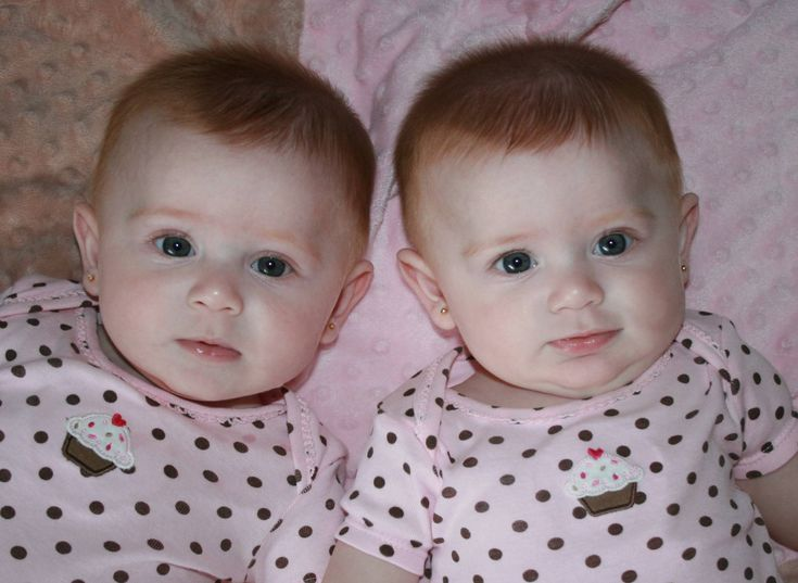 identical twin newborn babies - photo #38