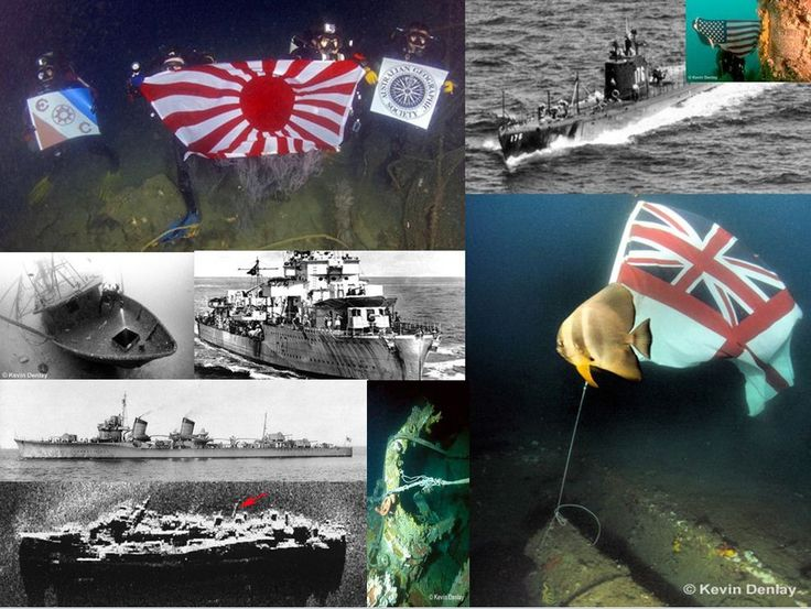 The WW2 shipwrecks that disappeared: Underwater explorer Kevin Denlay\'s interview on the lost fleet of the Pacific - PART 2