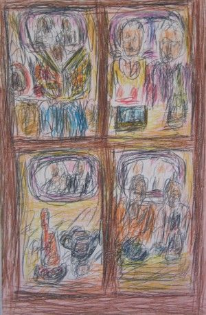 Aftermath II by David Koloane   DAVID KRUT PROJECTS