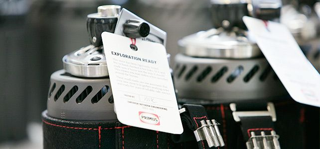 We hand test all the expedition stoves to guarantee that they are Exploration Ready when you receive it.