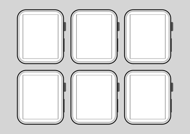 Outline Mockups for Wireframing Mockup, Outline, Apple tv