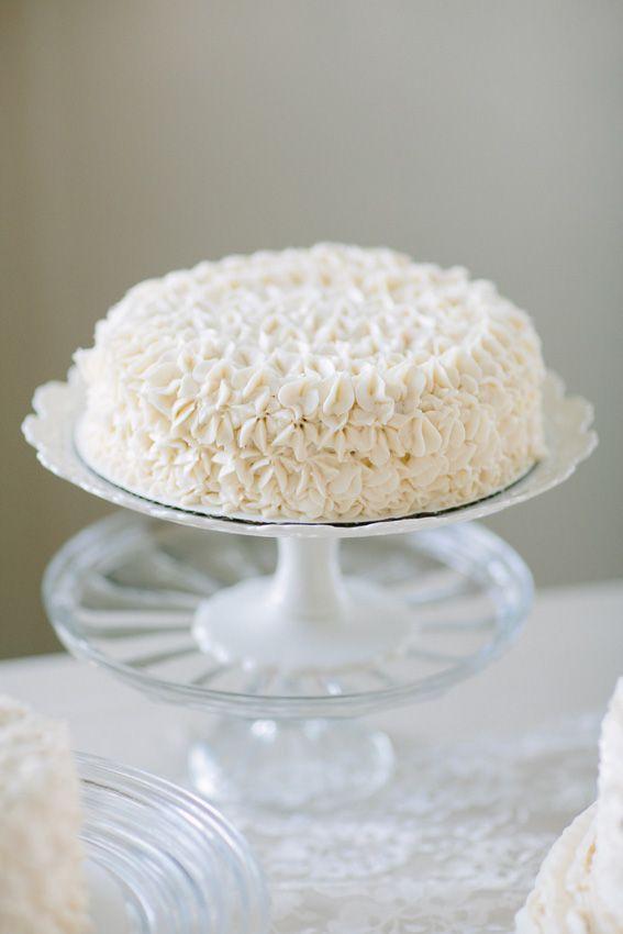 Multiple Single Layer Wedding Cakes