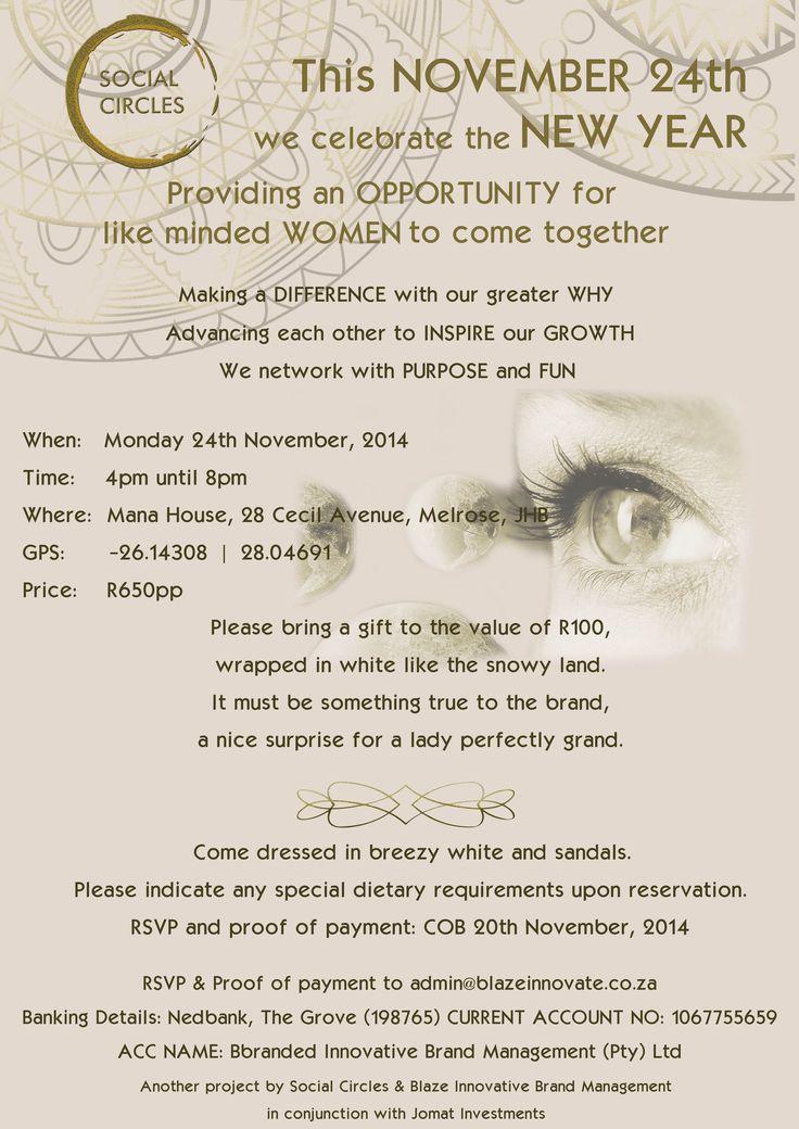 invitation - 24 November