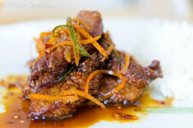 Crispy Chinese Orange Beef
