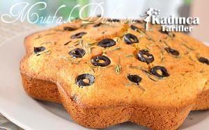 Zeytinli Kekikli Mısır Ekmeği Tarifi