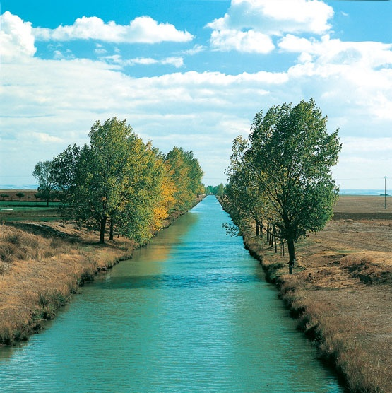 Canal de Castilla, Palencia.