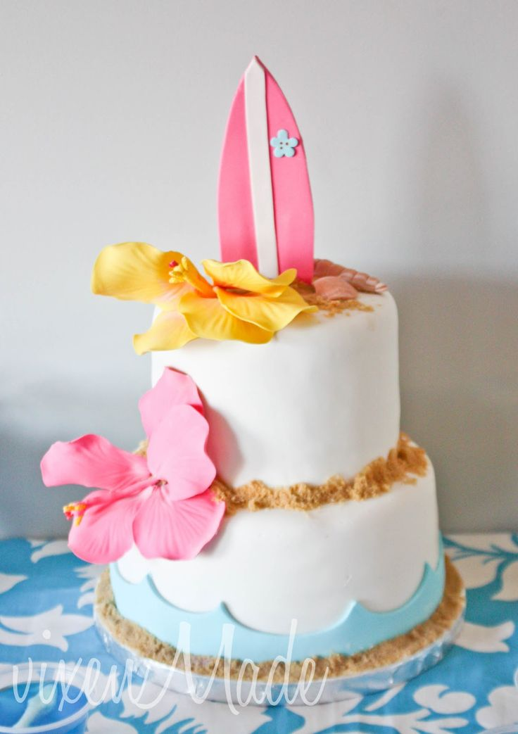 Surfing Party: The Cake, deze gaan we zeker maken!