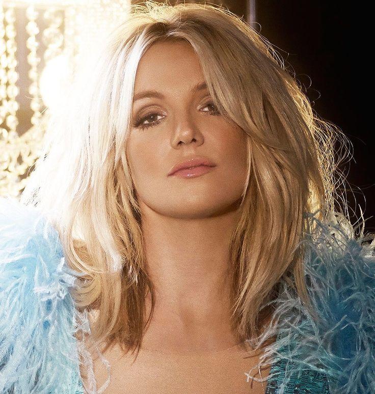 Britney Spears | long messy bob - lob