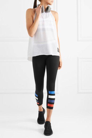 P.E Nation - Fall In Printed Stretch Leggings - Black - x small