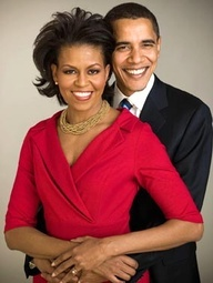 The President of The United States of America and Mrs. Obama