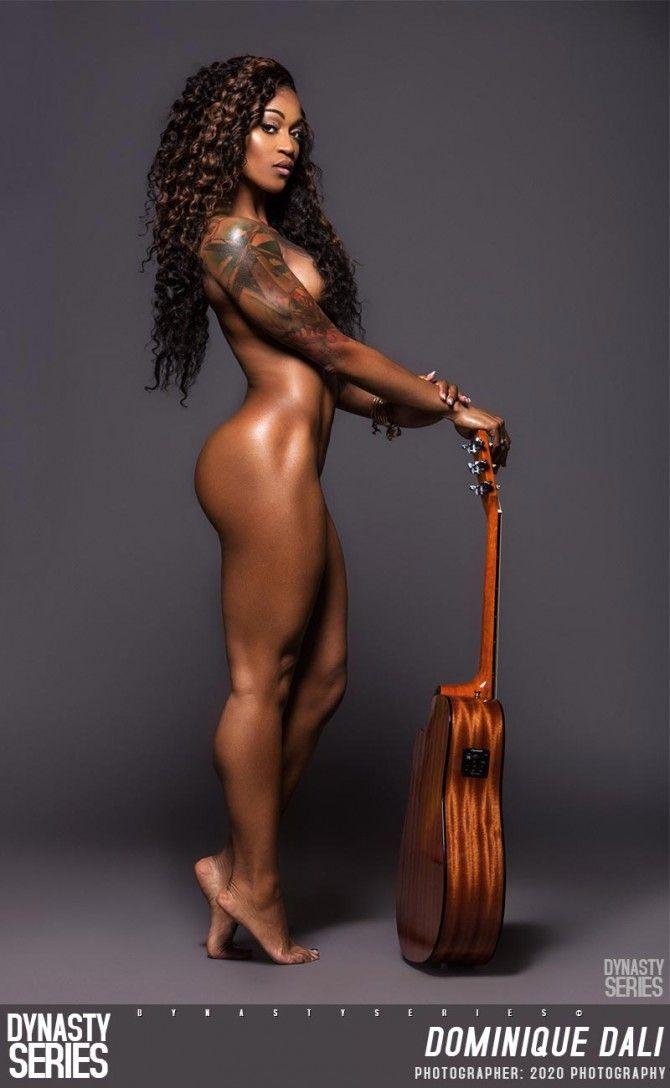 black girl naked full body
