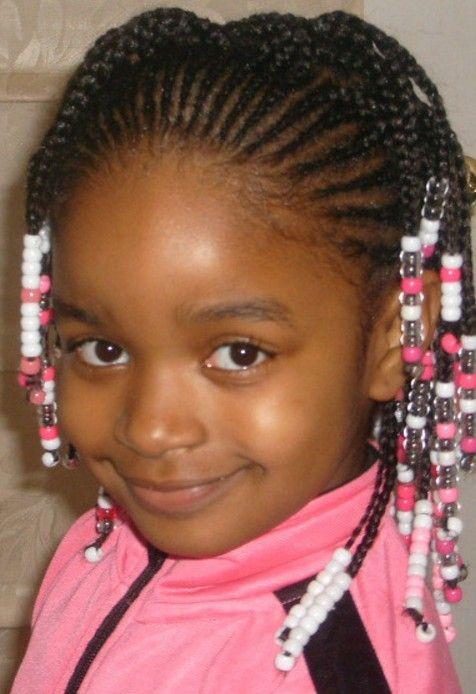 Siyahi Küçük Kız Saç Modelleri