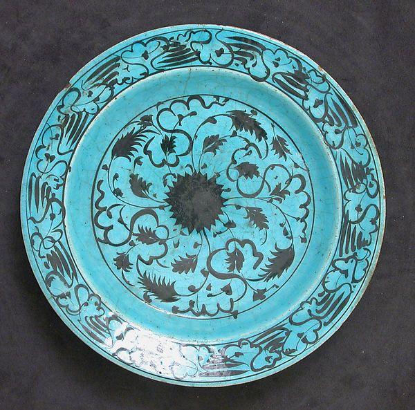 Dish | Islamic | The Met  16th–17th century  Iran Culture:Islamic Ceramics