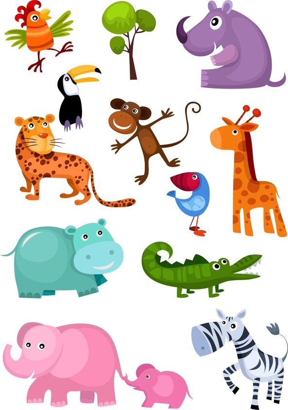 colcha en patchwork con animales de la selva - Google Search