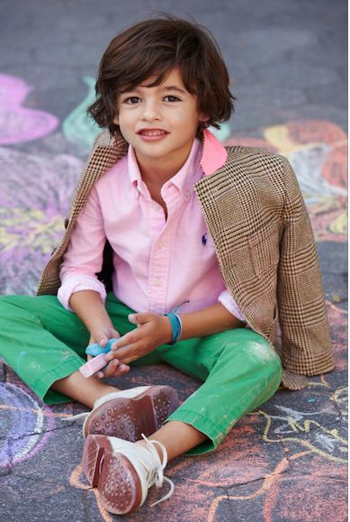 Get Dressed Up: Boys Spring arrivals from Ralph Lauren. Everything he needs to look dapper this season.