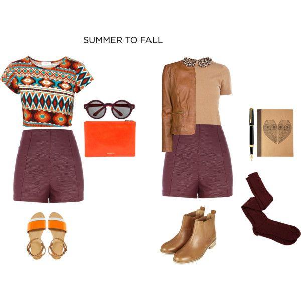 """""""Summer to fall- high waist shorts"""""""