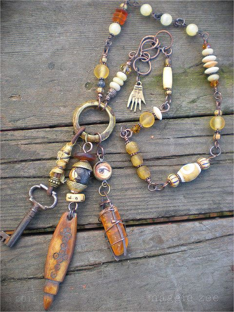 Maggie Zee Amulet Protective Necklace   Flickr - Photo Sharing!
