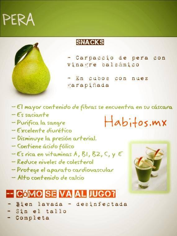 Beneficios de la pera!