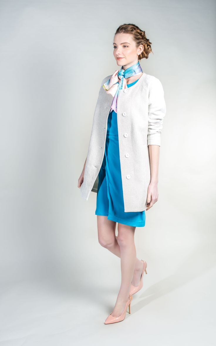 Elegant Classic Style Fashion Duster Coat #Spring #Fashion #WantHerDress