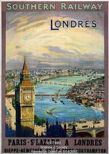 'Londres', (London), SR poster, 1923-1947.