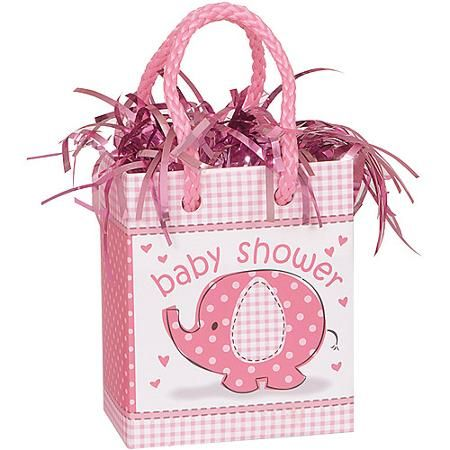 Pink Elephant Baby Shower Balloon Weight - Walmart.com