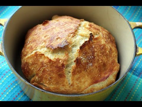 Faster No Knead Bread - YouTube