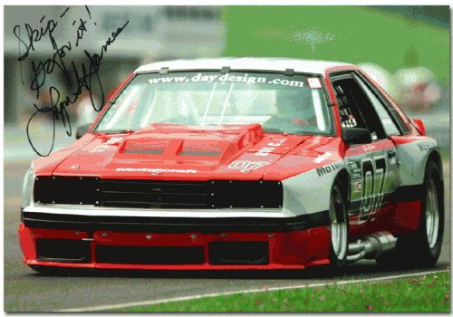 1982 Roush Mercury Capri. Sweet Fox Capri TransAm racecar. Digging the sidepipe.