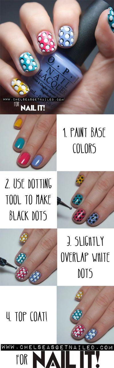 Pretty Dot Nails