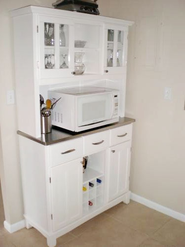 about Microwave Storage on Pinterest Hidden microwave, Microwave ...