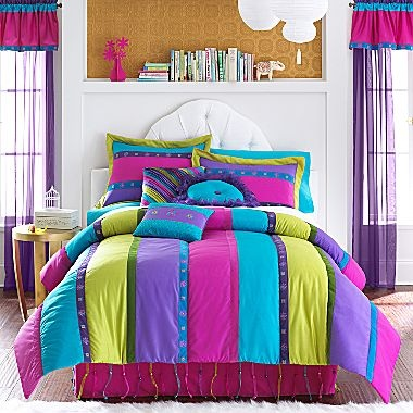 Seventeen® Susette Stripe Comforter Set and More - jcpenney