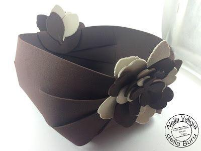 Tutorial lampo per realizzare un cestino fai da te in gomma crepla o cartoncino
