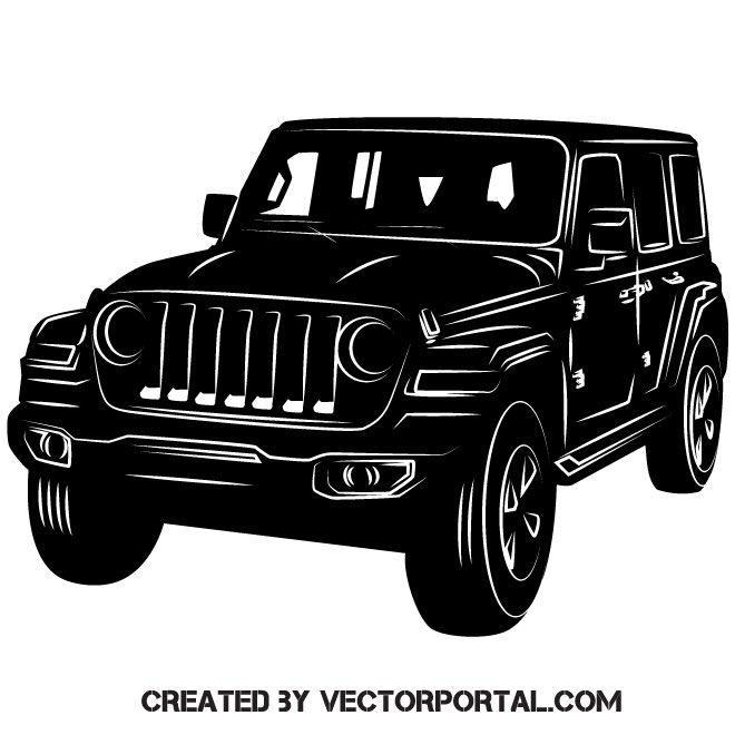 Car Model Jeep Vector Image Jipes Carro Jipe Carros