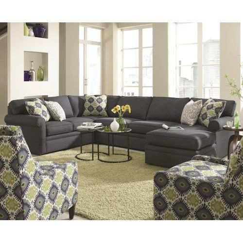 Rowe Brentwood Transitional Sectional Sofa With Chaise Furniture Pinterest Sectional Sofas