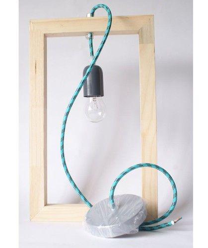 Ponle luz de forma única a cualquier lugar, con la lámpara wood grande.