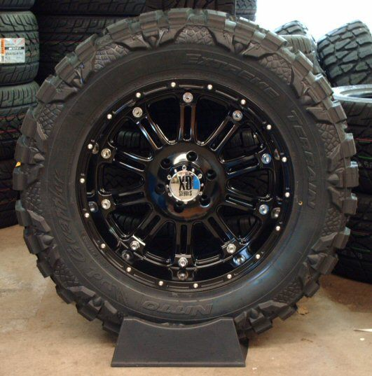 off road truck wheel and tire packages