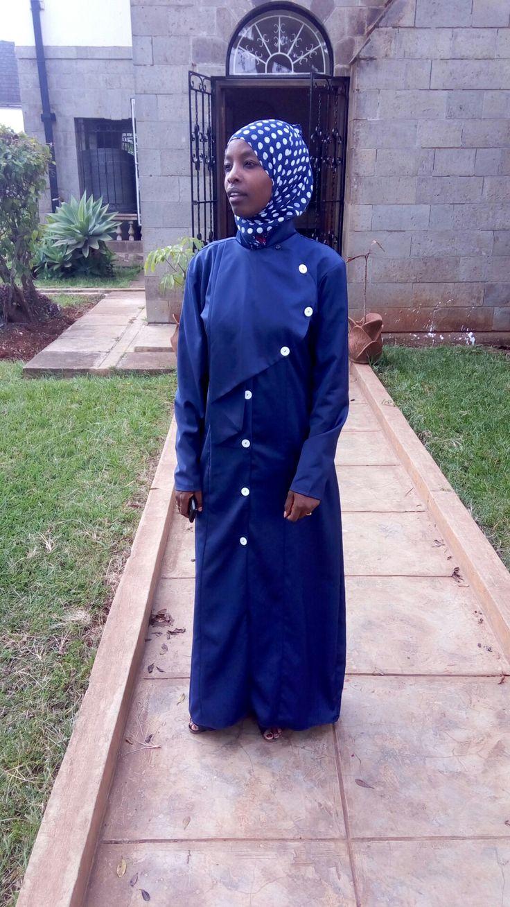 Double wrap hijab