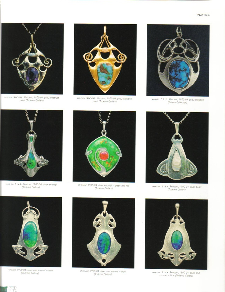 Pendants by Archibald Knox