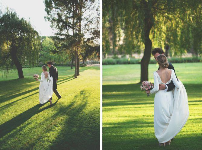 Preciosas instant neas de boda en jardin wedding shoes for Zapatos para boda en jardin