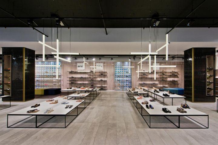 Shoe Gallery Store by Plazma, Vilnius – Lithuania » Retail Design Blog
