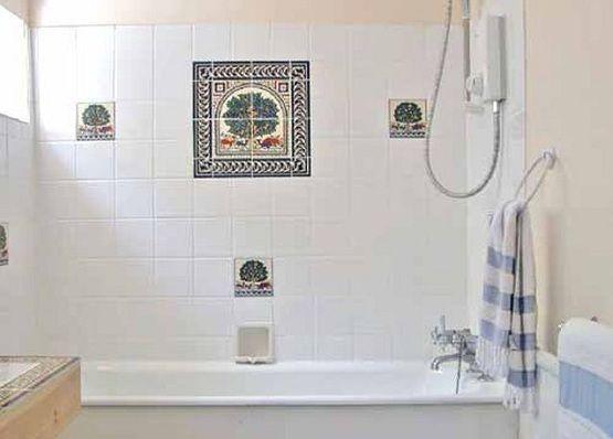 Bathroom Tile Ideas Design white shower tile design ideas - interior design