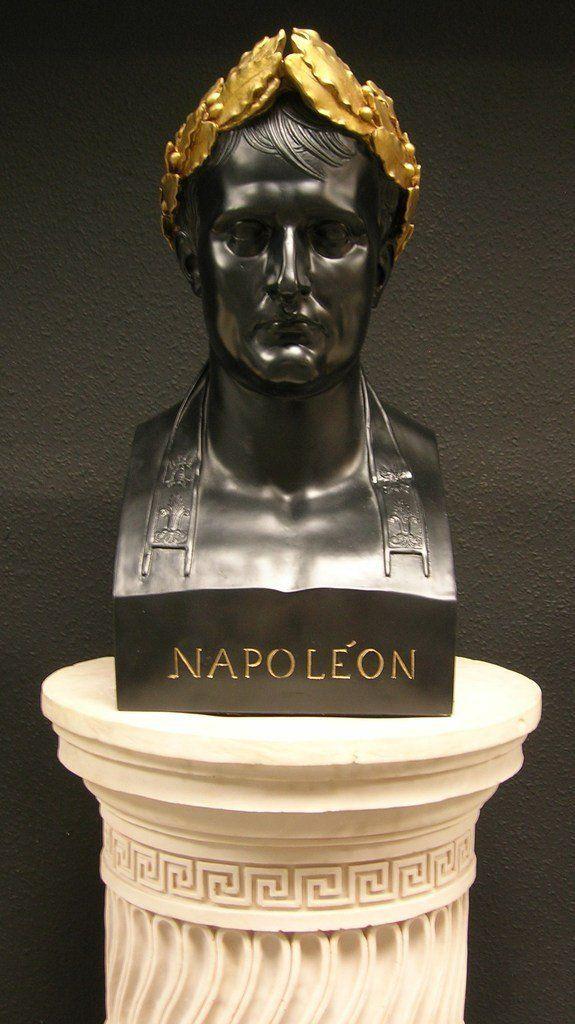 Napoleon as Caesar Black & Gilt