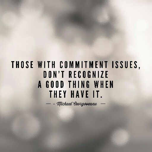 Commitment issues #quote