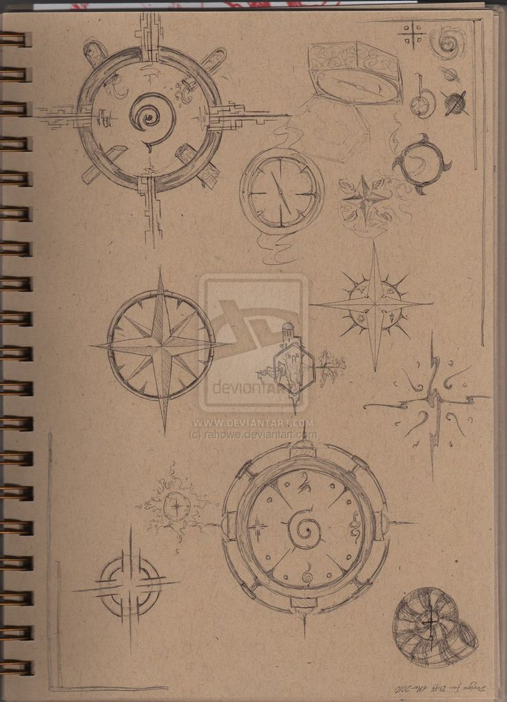 Thinking of a compass for my next tattoo?