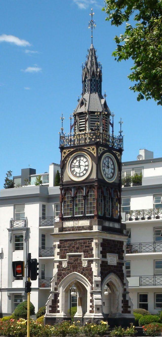 Christchurch, Clock Tower, NZ