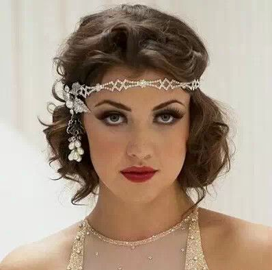Peachy 1000 Ideas About Gatsby Hairstyles On Pinterest Great Gatsby Short Hairstyles Gunalazisus