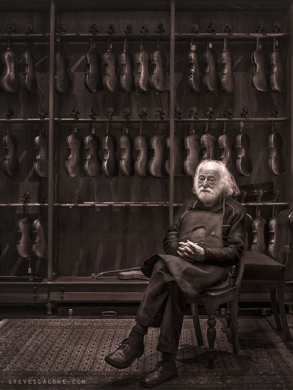 ♪♫ Music ♪♫ The Violineri - Brent has been crafting Violins for over 50 years and is close to retirement in Melbourne Australia.  Truly a gentle man and an amazing mast...