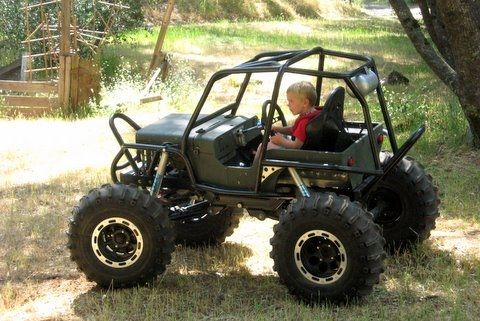 Mini rock crawler for kids - Pirate4x4.Com