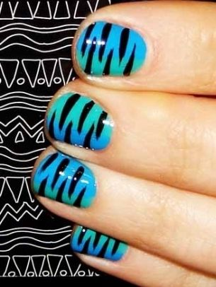 Creative and Simple Nail Art Ideas 2012