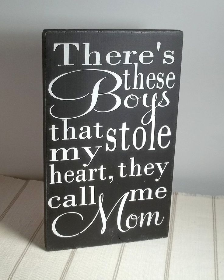 They Call Me Mom Black and White Painted Wood Sign. $20.00, via Etsy.  Sweet for my Mom in law!