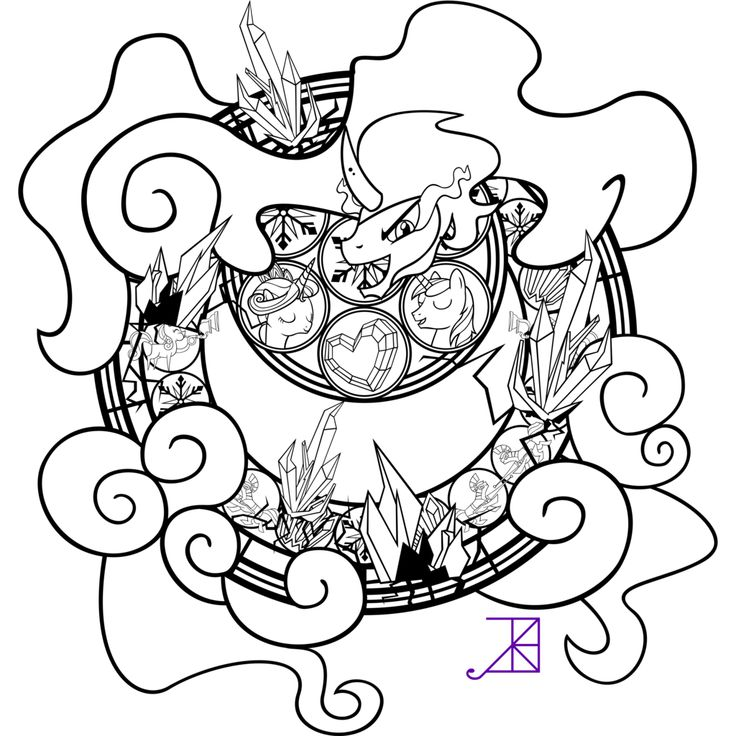 My Little Pony King Sombra Coloring Pages : Best images about stained glass on pinterest stains